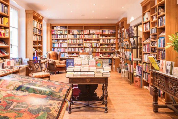 Schloss Elmau hat die vielleicht bestsortierte Buchhandlung Deutschlands. (Foto: Schloss Elmau)