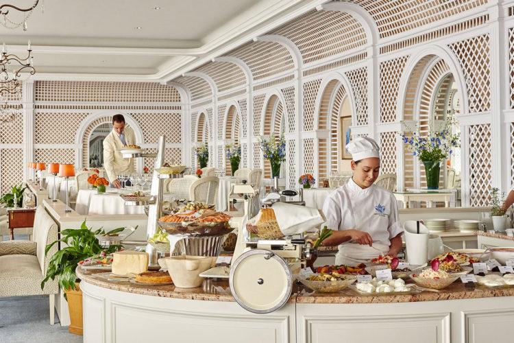 Buffet im Hotel Cap Eden Roc Restaurant