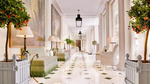 Foyer des Le Bristol's in Paris