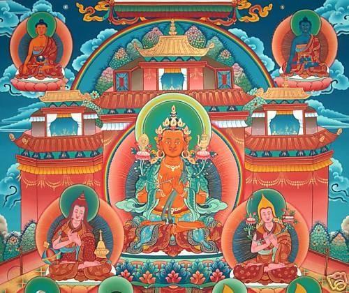 maitreya-tushita-tusita-heaven-tibetan-buddhist